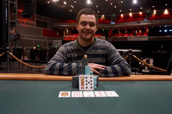 The Horseshoe Casino main Event Goes to Krzysztof Stybaniewicz