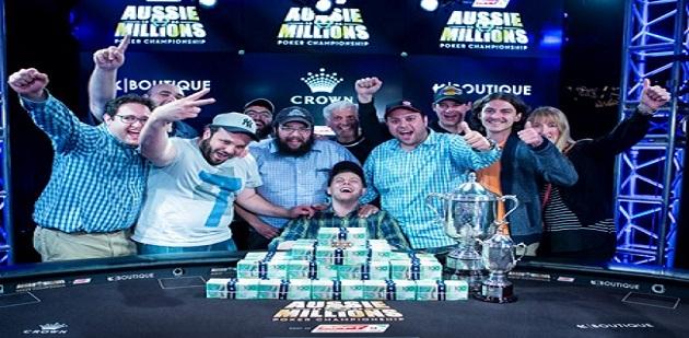 Ari Engel is the winner of 2016 Aussie Million