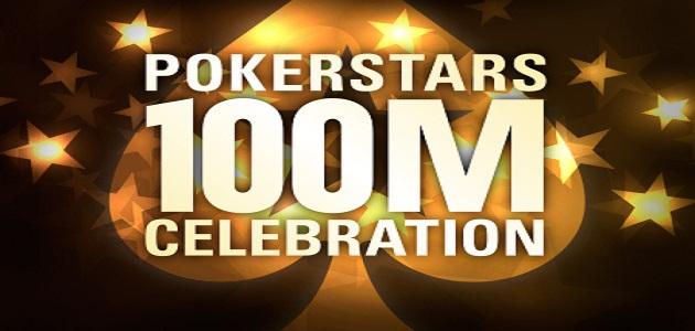 Pokerstars 100 Million players