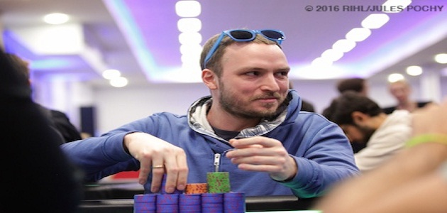 Sergey Lebedev of Russia Leading EPT High Roller
