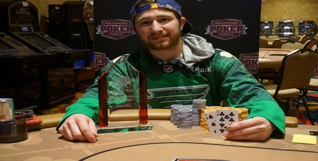 Cory Bogert Wins Hollywood Poker Open