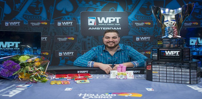 Andjelko Andrejevic wins WPT Amsterdam