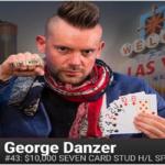 Brazilian George Danzer wins $10K buy in seven Card High Low