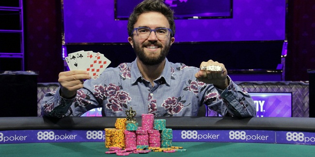 New Yorker Ryan D'Angelo wins Event#7 or 2-7 Draw Lowball WSOP 2016