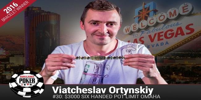 Russian Viatcheslav Ortynskiy wins evenet#30 for $344,327