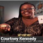 Courtney Kennedy Wins Event#65 or $10K Women's Poker Championship