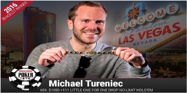 Swedish Michael Tureniec wins 2016 little one for one drop