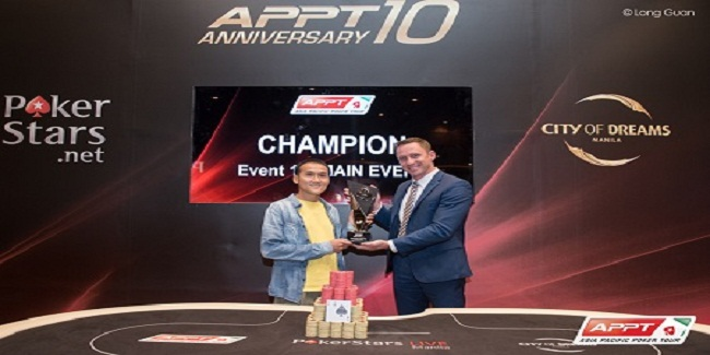 Canadian Linh Tran Wins APPT#10 Manila