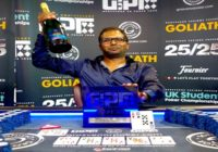 Vamshi Vandanpau Wins Grosvenor UK Poker Tour Goliath