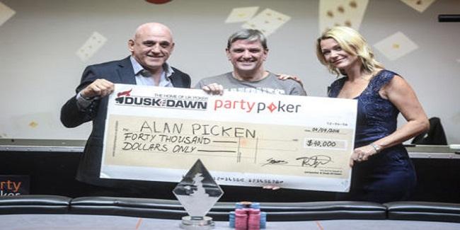 Alan Picken wins Grand Prix Poker Tour Cardiff for $40,000