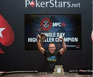 Russian Vladimir Dobrovolskii Wins Macau Poker Cup HK$100,000 High Roller