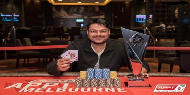 Ashish Gupta wins Asia Pacific Poker Tour for $124,191