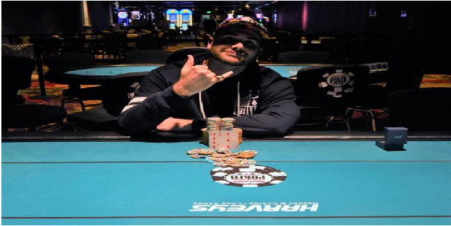Chad DeLanzo wins first gold ring at Harvey's Lake Tahoe