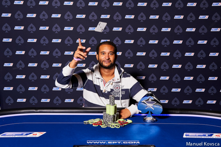Ismael Bojang of Austria wins IPT8 Malta Main Event for € 101,940