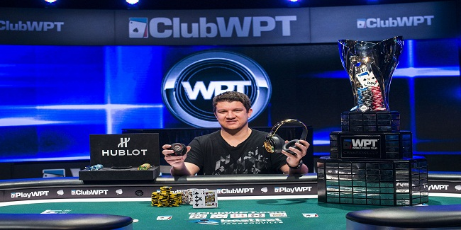 Sam Panzica wins world poker tour's bestbet Bounty for $354,335