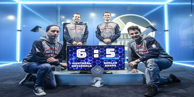 Montreal Nationals wins first GPL championship Title against Berlin Bears to 6-5