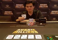 2017 Aussie Millions James Chen of Taiwan Wins $25,000 for AUD$861,840