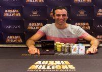 Australia's Robert Raymond wins event#1 of Aussie Million for $320,830