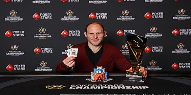 Canada's Luc Greenwood wins $25K High Roller of PokerStars Bahamas