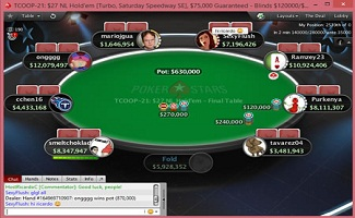 Canada's Purkenya wins event#21 of buy-in $27 NL Hold'em