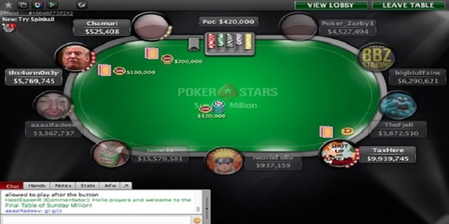 Canada's thx4urm0n3y wins Sunday Million event of PokerStars for $145K