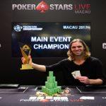 Elliot Smith of Canada wins PokerStars Championship Macau Main Event