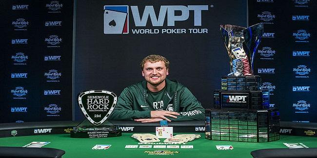 Ryan Riess Wins WPT Seminole Hard Rock Poker Finale for $716,088