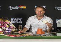 Thijs Menco of Netherlands wins WPTDeepStacks Amsterdam