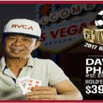 David Pham wins third career Bracelet at WSOP 2017 for $391,960